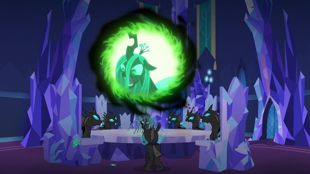 """File:Queen Chrysalis """"nopony can stop us!"""" S6E25.png"""