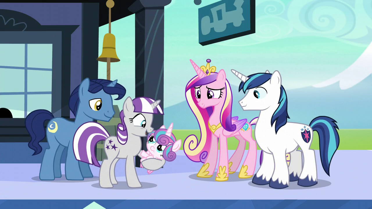 Sparkle Family My Little Pony Friendship Is Magic Wiki