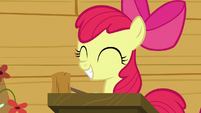 Apple Bloom smiling S6E4