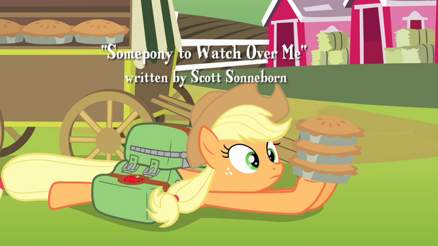 File:Applejack catches the pies S4E17.png