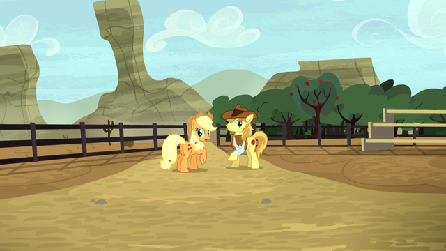 File:Applejack notices the Crusaders missing S5E6.png