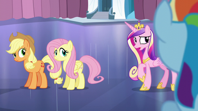 "File:Cadance ""And try not to mention the Crystal Heart"" S6E2.png"