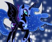 FANMADE Sparkly Nightmare Moon