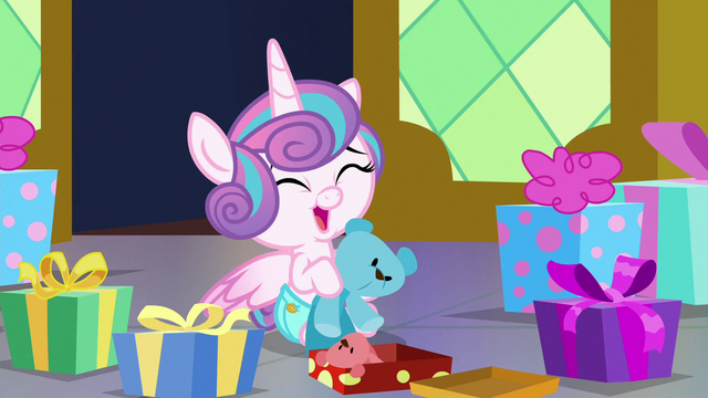 File:Flurry Heart laughing adorably S7E3.png