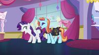 "Rarity and Sassy Saddles ""no!"" S5E14"