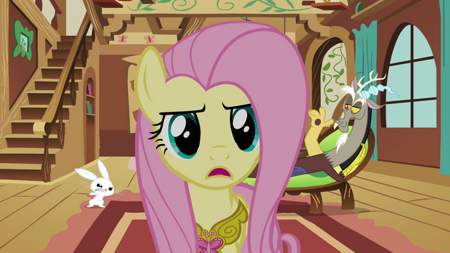 File:Fluttershy 'I think the key is to befriend him' S3E10.png