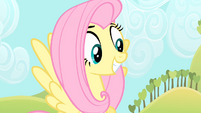 Fluttershy smiling S4E07
