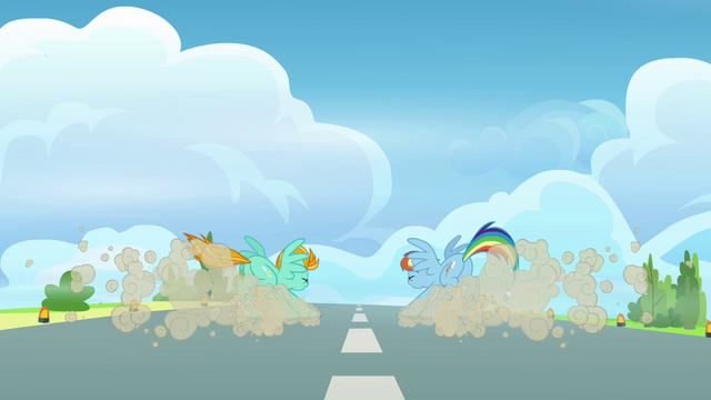 File:Lightning and Rainbow stops S3E07.png