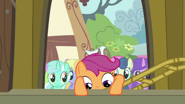 File:Scootaloo climbing into Pinkie's float S3E4.png