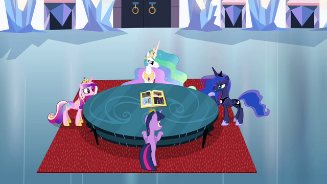 File:Twilight and princesses around a table S4E25.png