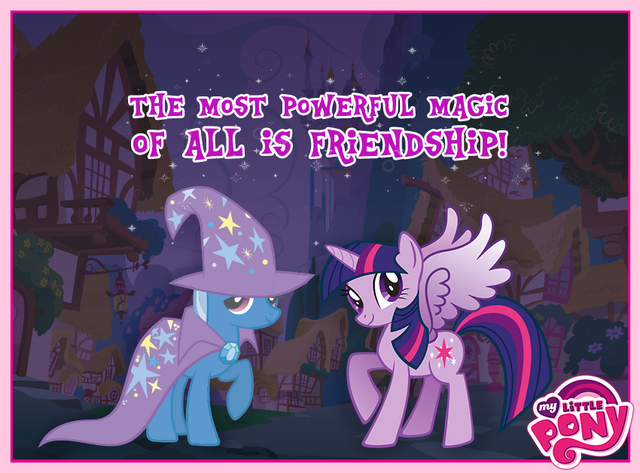 File:Trixie and Twilight The Most Powerful Magic of All is Friendship.png