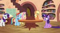 Twilight and friends puzzled S4E18