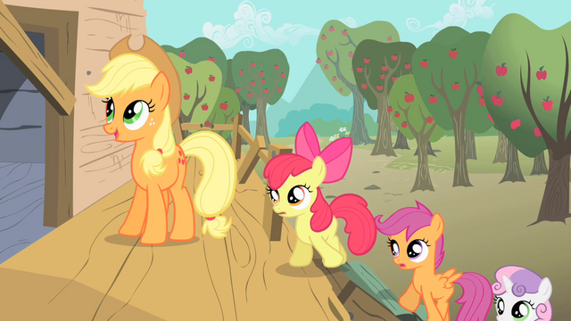 File:Applejack CMC new clubhouse S1E18.png