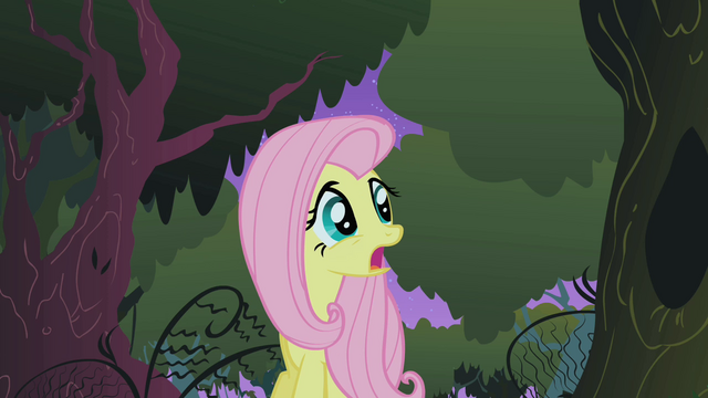 File:Fluttershy in the Everfree forest S1E17.png