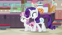 "Rarity ""excited to be back here"" S7E6"