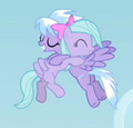 Cloudchaser and Flitter hug cropped S02E22.png