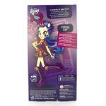 Friendship Games School Spirit Indigo Zap doll back of packaging