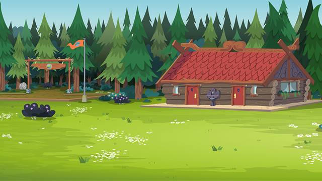 File:Legend of Everfree background asset - Camp Everfree grounds.png