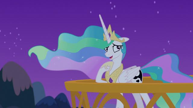 "File:Princess Celestia ""you're talking to yourself"" S7E10.png"