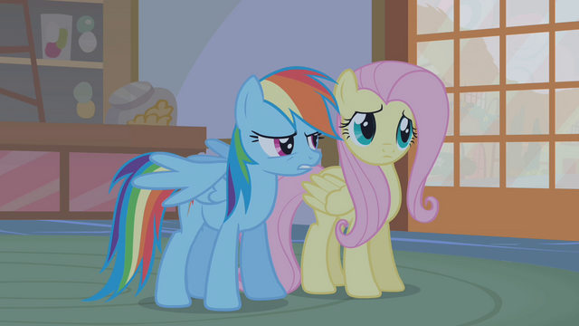 """File:Rainbow Dash """"she comes into Ponyville"""" S1E09.png"""