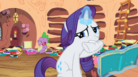Rarity worried S2E10