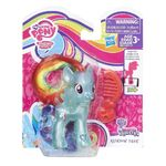 Explore Equestria Rainbow Dash translucent doll packaging