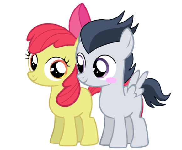 File:FANMADE Apple Bloom and Rumble.png