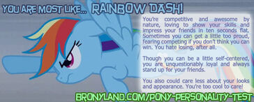 FANMADE Banner Rainbow Dash test results