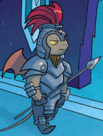 FIENDship is Magic issue 2 gargoyle guard