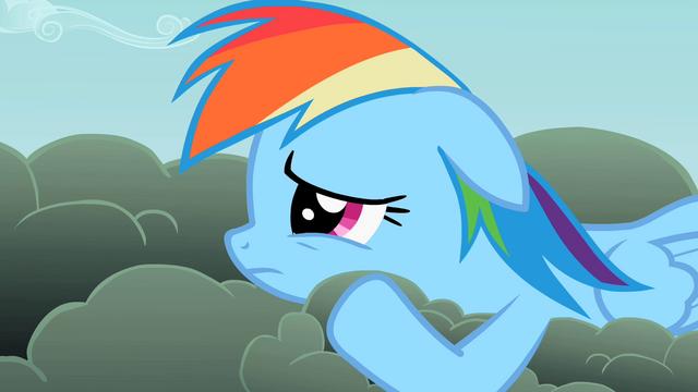 File:Rainbow Dash downcast S2E8.png
