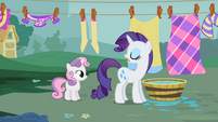 "Rarity ""Stay out of trouble"" S2E05"