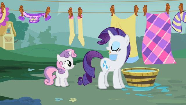 "File:Rarity ""Stay out of trouble"" S2E05.png"