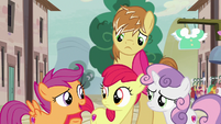 "Scootaloo ""he just needs a little nudge"" S7E8"