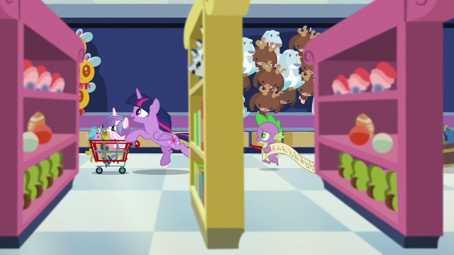 File:Twilight and Spike race through the toy store S7E3.png
