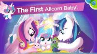 Alicorn Baby Flurry Heart Hasbro Toy Fair 2016 presentation
