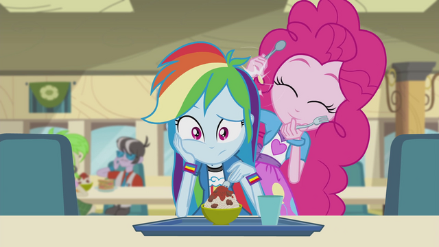 File:Pinkie drumming on Rainbow Dash EG2.png