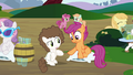 Scootaloo looking at her hoof S4E15.png