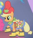 Applejack bad Gala outfit ID S1E14