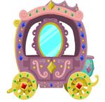 Canterlot Castle carriage