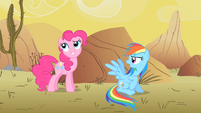 "Pinkie Pie ""Ah'ya caught me!"" S1E21"