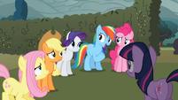 Rainbow Dash 'Like Twilight said' S2E01