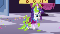 Rarity covered in slime S5E7