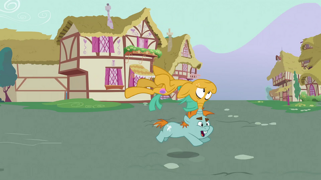 File:Snips running with Snails on top S3E05.png