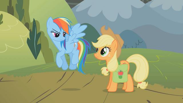 """File:Applejack """"we'll go up together"""" S01E07.png"""