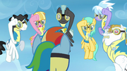 Cadets salute Rainbow Dash S3E7.png