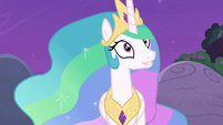 "Celestia ""she'd have to talk to the other fillies"" S7E1"