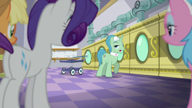 """File:Spa Worker """"ponies sure do love"""" S6E10.png"""