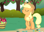 Applejack proud of herself S1E01.png