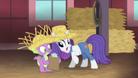 "Rarity ""who the hay is that"" S4E13"