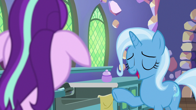 "File:Trixie ""I've got you covered"" S7E2.png"